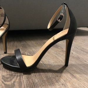 Express strappy sandals, size 8